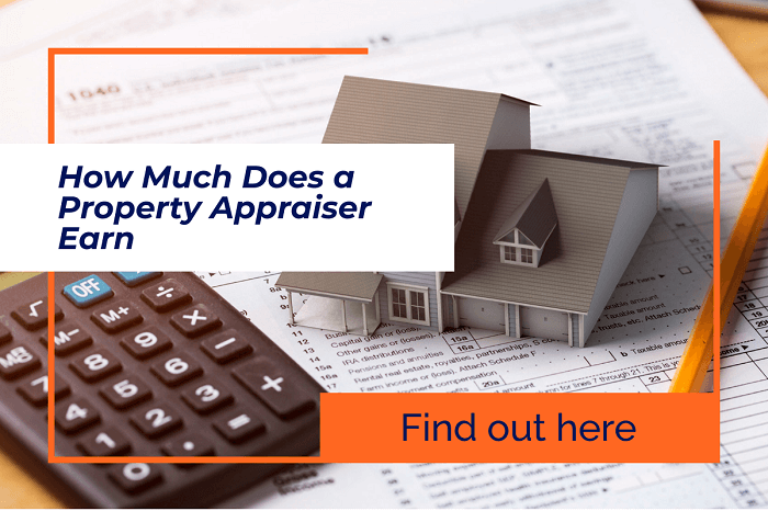how much does a property appraiser earn